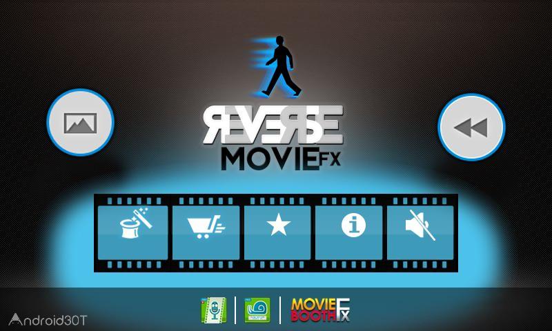 دانلود Reverse Movie FX PRO – magic video 1.4.0.40 – برنامه معکوس کننده ویدئو اندروید