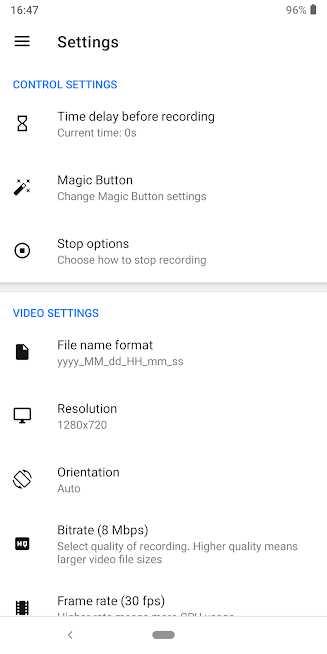 دانلود Screen Recorder – Free No Ads v1.2.6.1 – برنامه فیلمبرداری از صفحه گوشی با صدا اندروید
