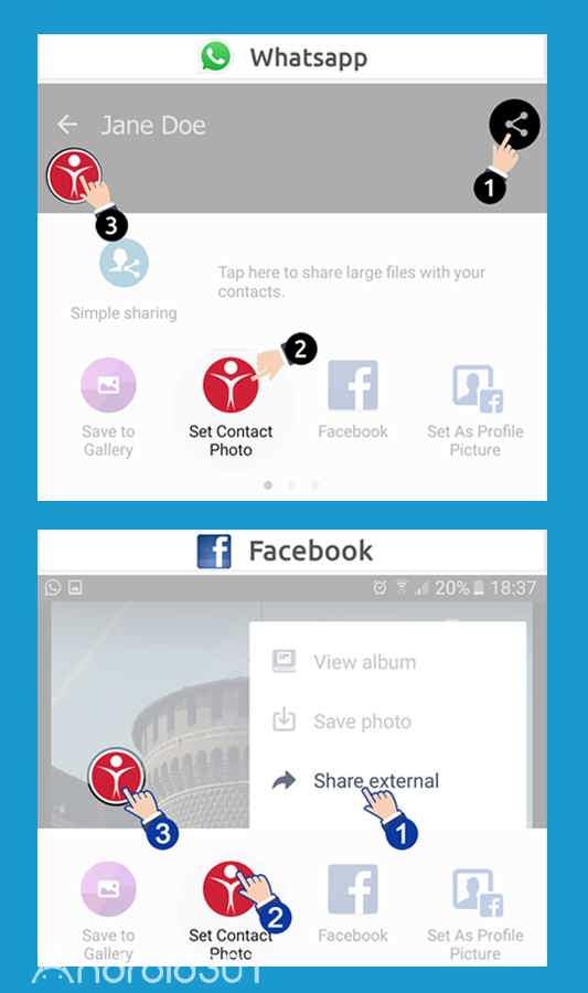 دانلود Set Contact Photo Pro 1.5.6 – برنامه قرار دادن عکس برای مخاطبین اندروید