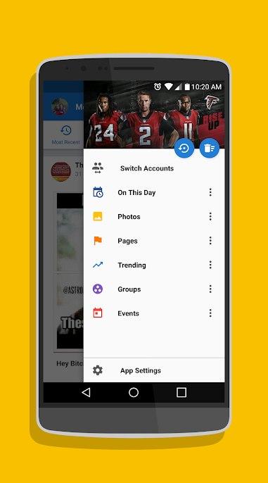 دانلود ۹٫۸٫۱ Simple Social Pro – برنامه اتصال به شبکه های اجتماعی اندروید