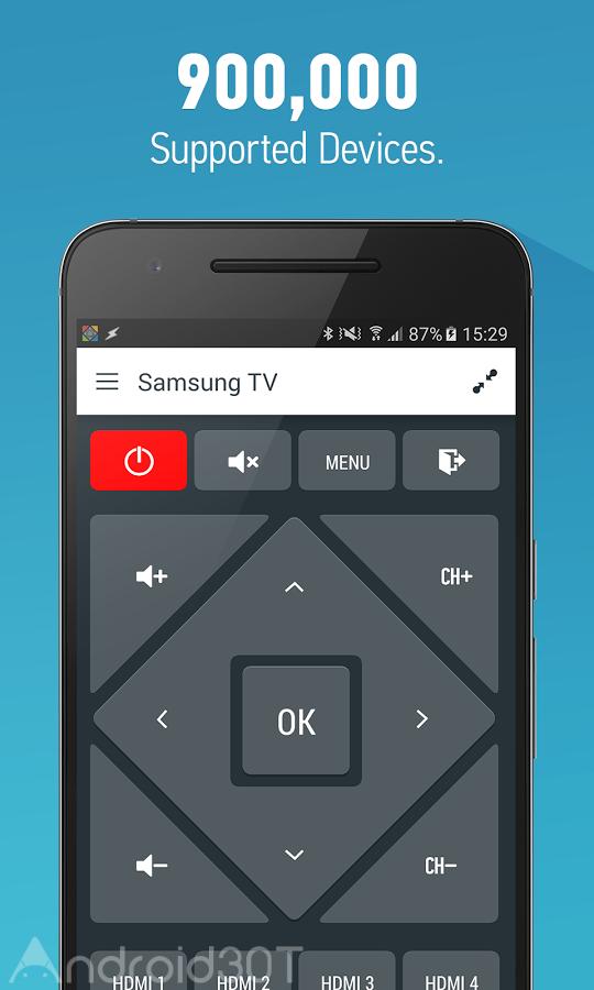 دانلود Smart IR Remote 4.6.9 – ریموت کنترل تلویزیون و وسایل خانگی اندروید