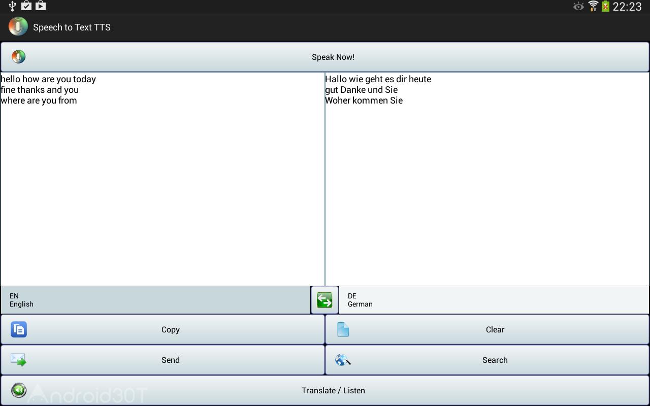 دانلود Speech to Text Translator TTS Pro 3.1.5 – تبدیل متن به گفتار اندروید