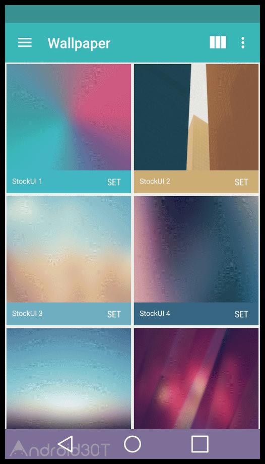 دانلود Stock UI – Icon Pack 176.0 – مجموعه تم های جذاب اندروید
