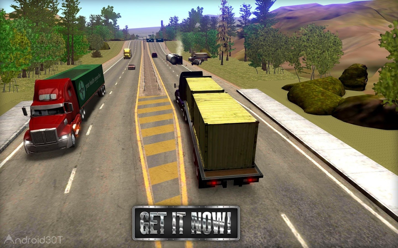 دانلود Truck Simulator USA 2.2.0 – بازی رانندگی با تریلی ۱۸ چرخ اندروید