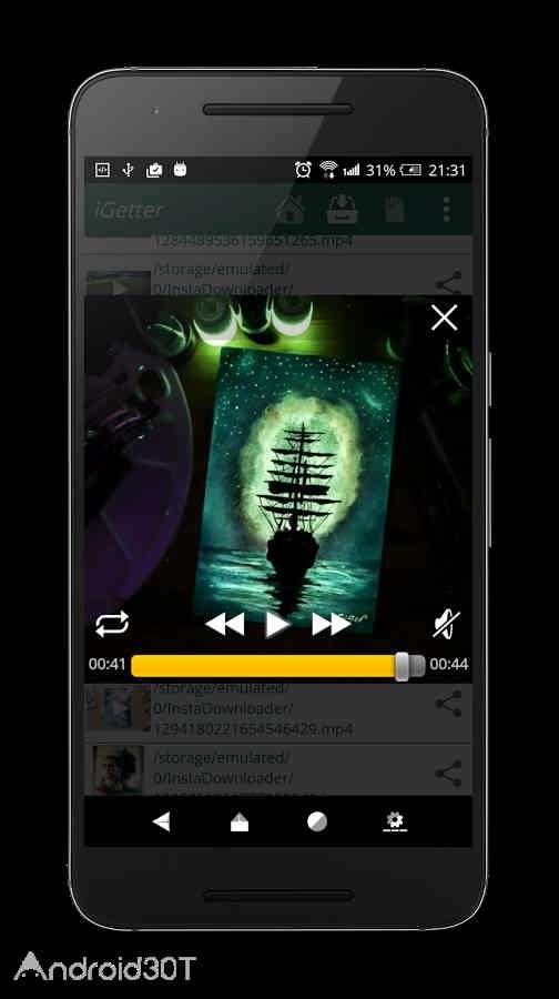 برنامه دانلود عکس و فیلم از اینستاگرام iGetter for Instagram Pro 4.4.37 اندروید