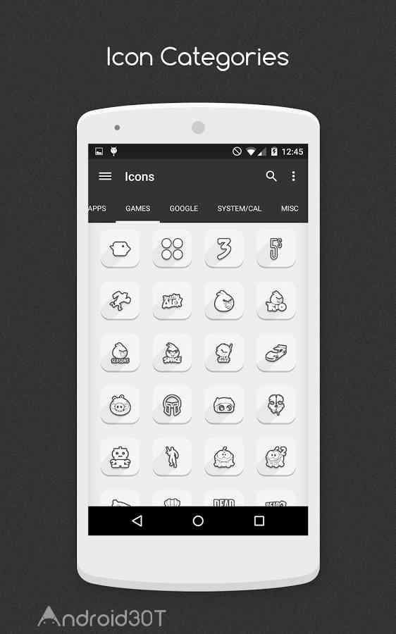 دانلود 1.0.0  VIT Icon Pack – مجموعه آیکون جذاب اندروید