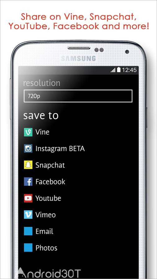 دانلود Videoshop – Video Editor Full 2.2.1 – ویرایشگر قدرتمند ویدئو اندروید