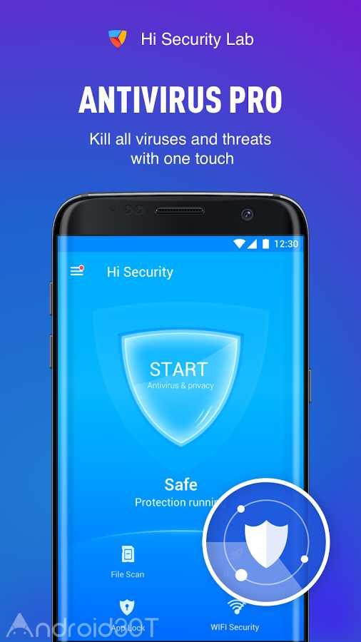 دانلود Free Antivirus 2018 – MAX Security Full 1.7.4 – بهترین آنتی ویروس 2018 اندروید