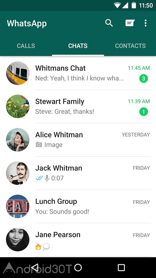 WhatsApp 2.20.49 – دانلود آخرین نسخه واتس اپ اندروید