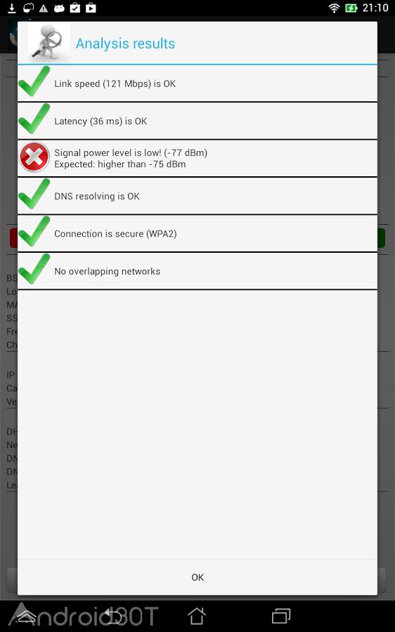 دانلود WiFi Analyzer Pro 3.1.5 – برنامه آنالیزور وایفای اندروید