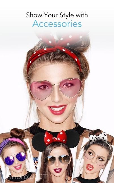 دانلود YouCam Makeup -Makeover Studio 5.67.1 – برنامه آرایشگاه مجازی اندوید