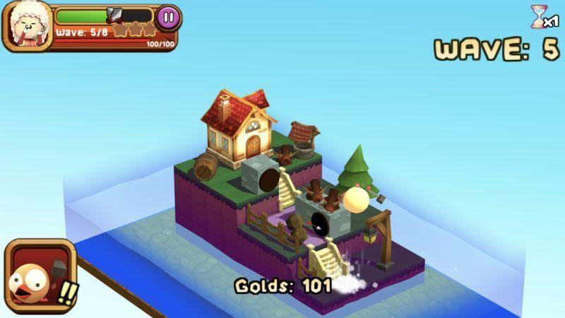 دانلود 3D TD: Chicka Invasion 1.5.0 – بازی استراتژیکی حمله مرغ ها اندروید