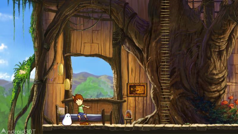 دانلود A Boy and His Blob 1.0 – بازی ماجراجویی پسرک و حباب اندروید