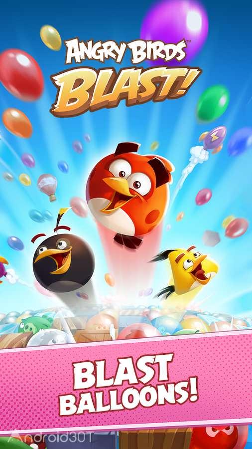 دانلود Angry Birds Blast 2.1.4 – بازی پازلی انفجار پرندگان خشمگین اندروید