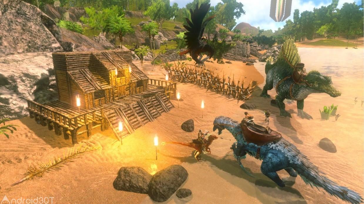 دانلود ARK: Survival Evolved 2.0.22 – بازی ماجراجویی بقا در جزیره اندروید
