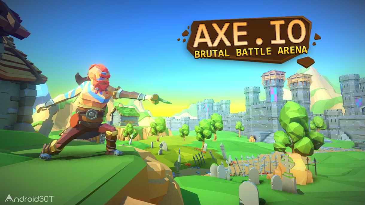 دانلود AXE.IO 1.6.3 – بازی آرکید جدید برای اندروید
