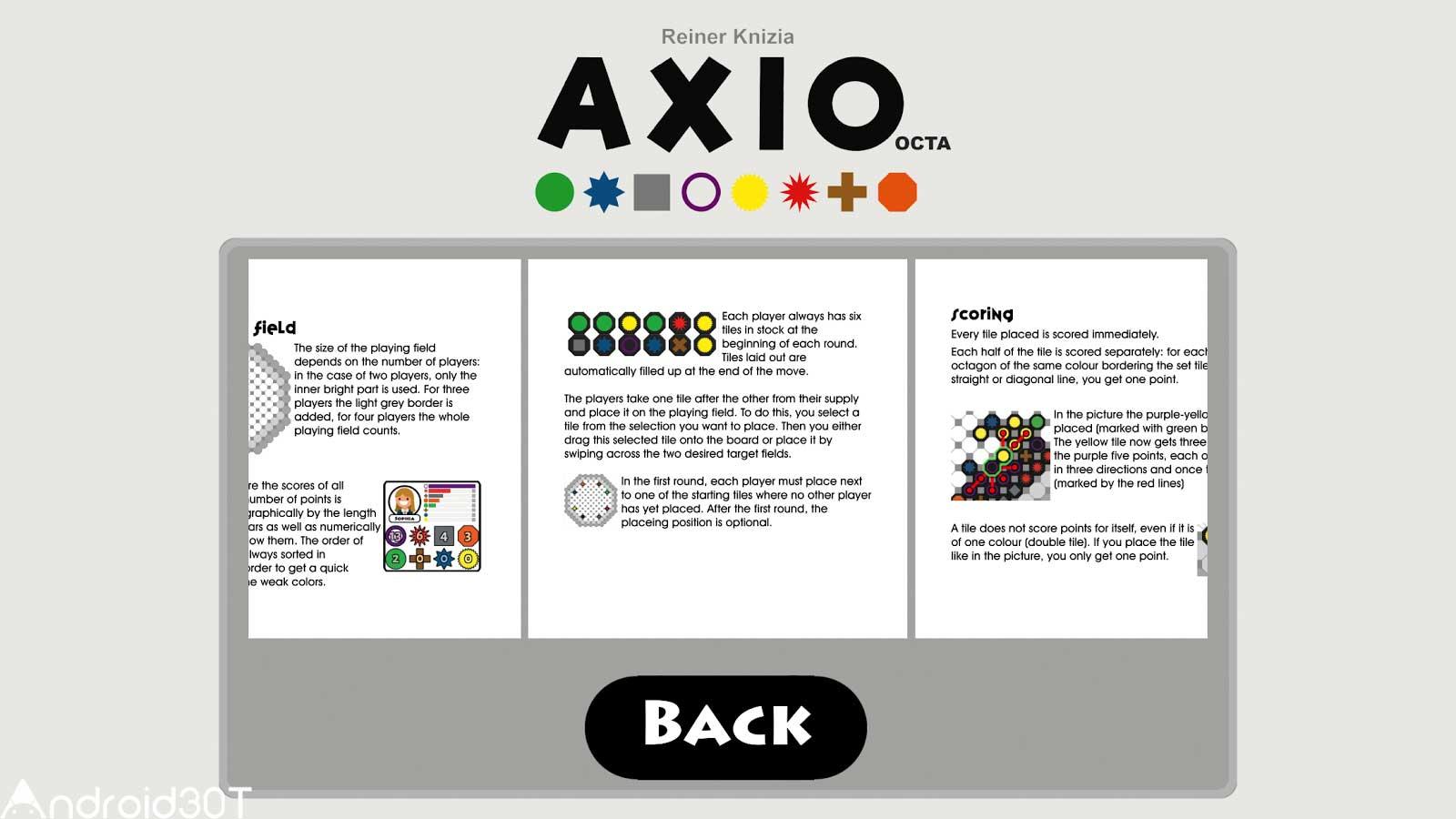 دانلود AXIO octa 1.3.0 – بازی تخته ای اکتا اندروید
