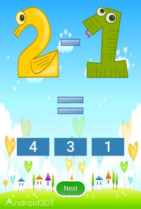 دانلود Addition and Subtraction 2.6 – بازی آموزش ریاضی به کودکان اندروید