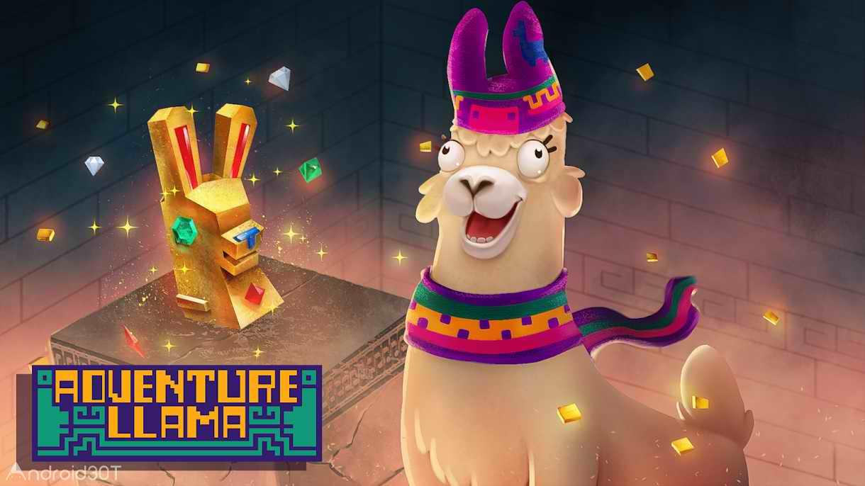 دانلود Adventure Llama 1.0  – بازی ماجراجویی لاما اندروید
