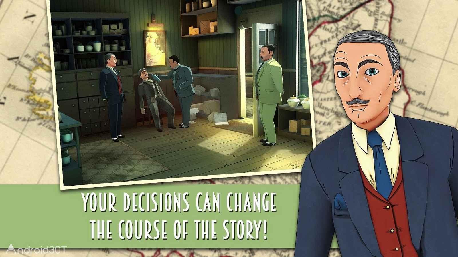 دانلود Agatha Christie – The ABC Murders 1.1.1 – بازی هرکول پوآرو برای اندروید