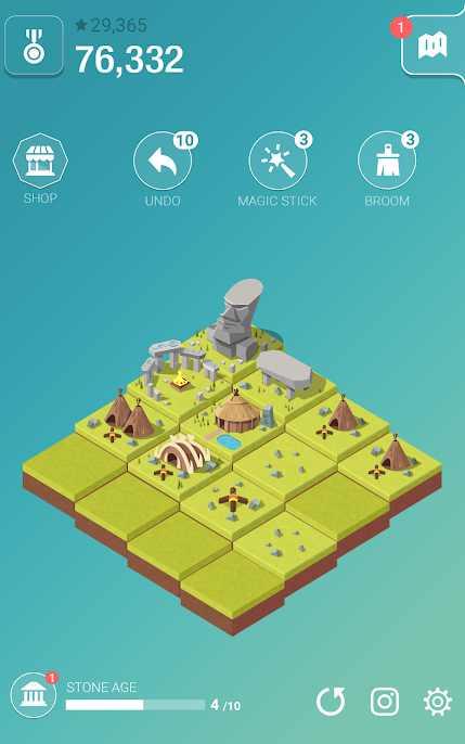 دانلود Age of 2048: Civilization City Building Games 2.4.4 – بازی پازلی جالب برای اندروید