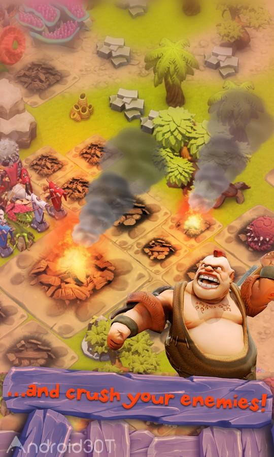 دانلود Age of Cavemen 2.1.3 – بازی استراتژیکی عصر غارنشینان اندروید