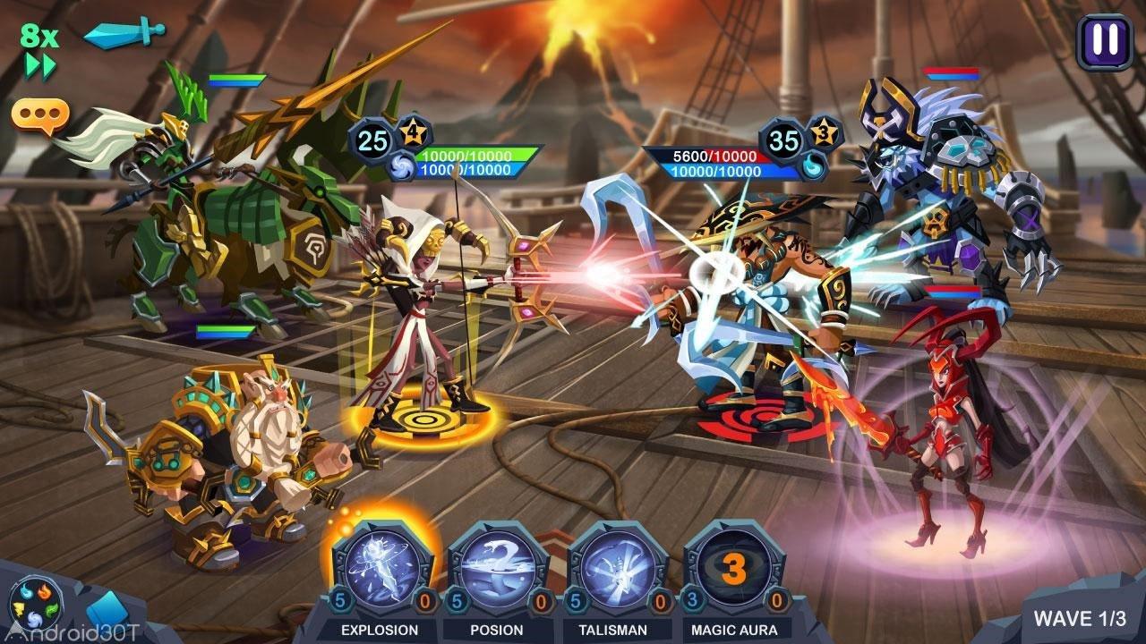 Age of Heroes: Conquest 1.0.822 – بازی نقش آفرینی عصر قهرمانان اندروید