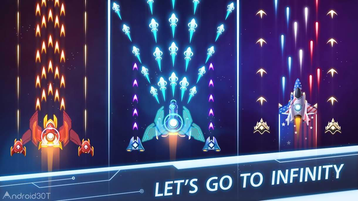 دانلود Air Strike – Galaxy Shooter 2.0.17 – بازی جذاب نبرد هوایی اندروید