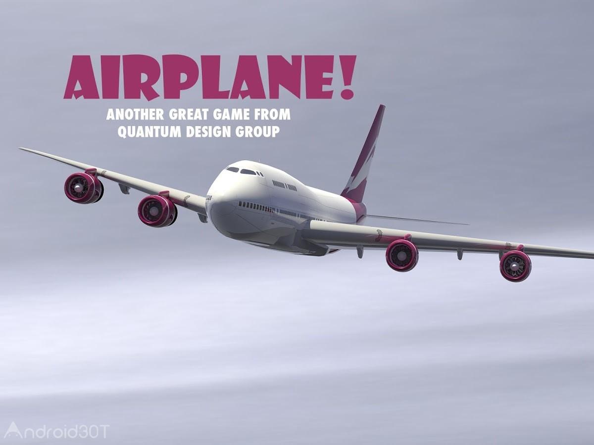 Airplane! v3.0 – بازی سرگرم کننده ی هواپیما برای اندروید
