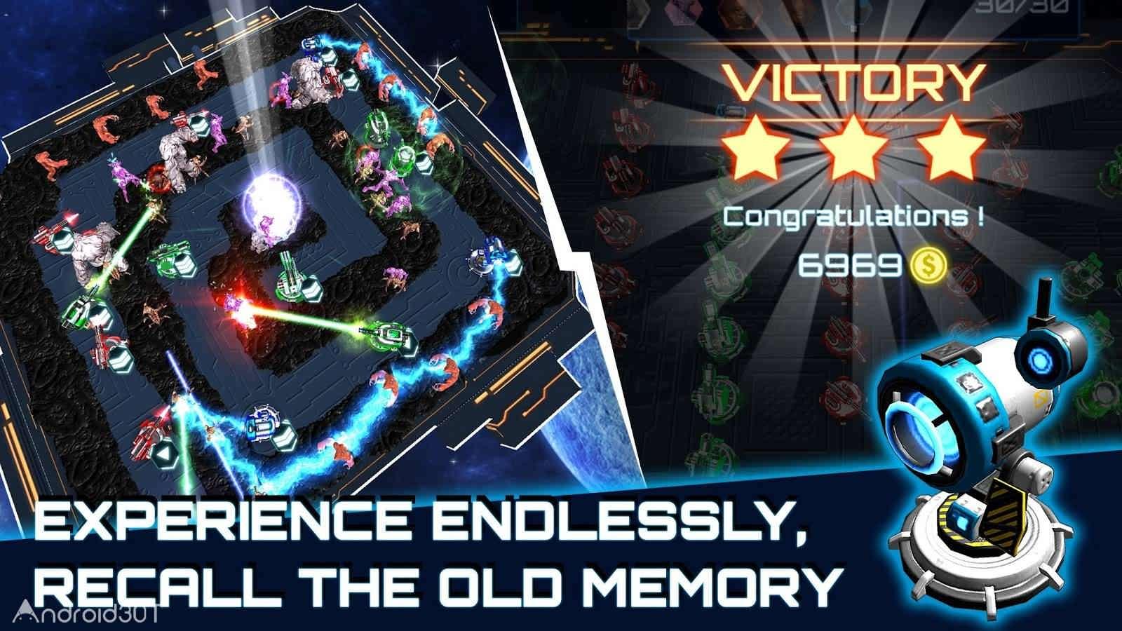 دانلود Alien Demons TD 1.3 – بازی استراتژیکی شیاطین بیگانه اندروید