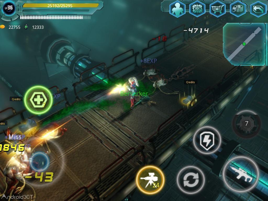 دانلود Alien Zone Raid 2.1.0 – بازی اکشن یورش به منطقه بیگانگان اندروید