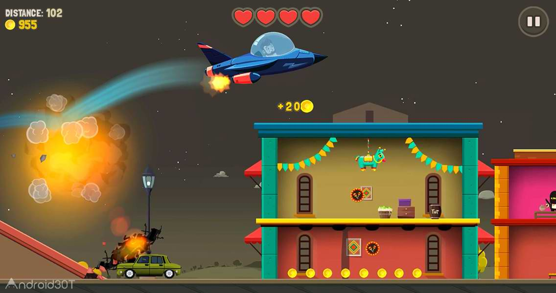 دانلود Aliens Drive Me Crazy 3.1.4 – بازی اکشن سبک رانندگی اندروید