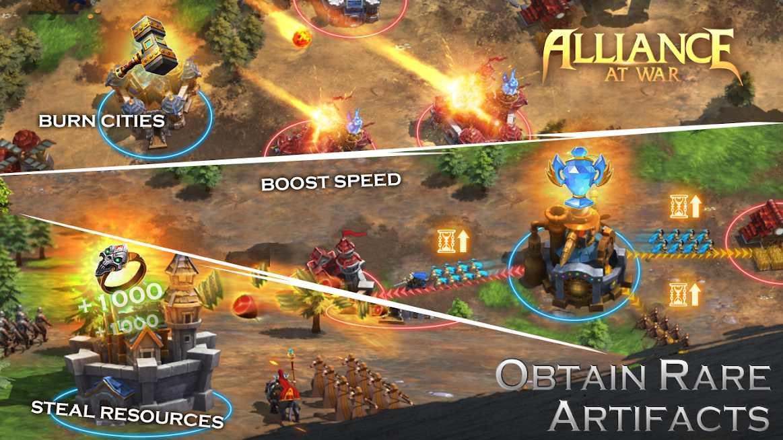 دانلود Alliance at war: magic throne v1.0.7 – بازی استراتژیکی اتحاد در جنگ اندروید