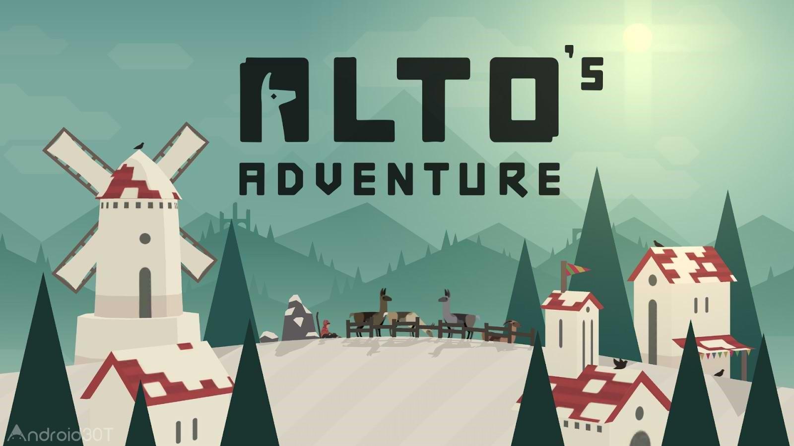 دانلود Alto's Adventure 1.7.4 – بازی ماجراجویی آلتو اندروید