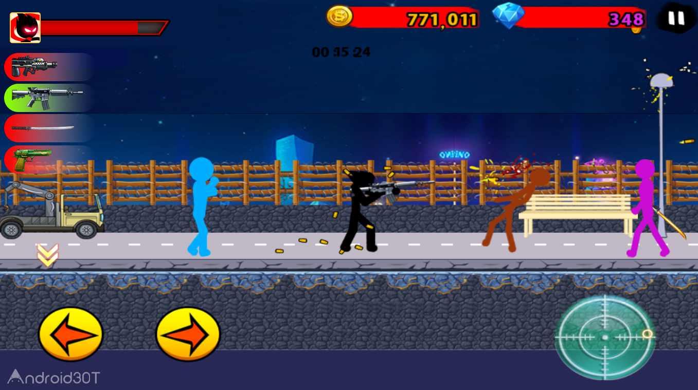 دانلود Anger of stick 7 v3.6 – بازی اکشن خشم آدمک 7 اندروید
