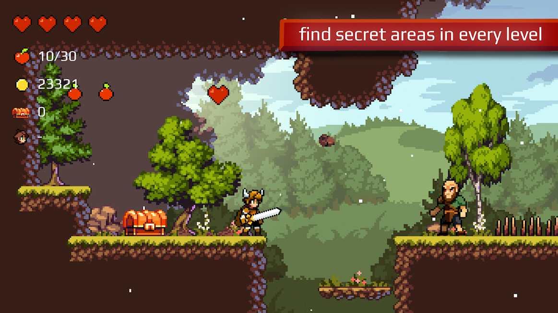 دانلود Apple Knight: Action Platformer 2.2.4 – بازی اکشن برای اندروید