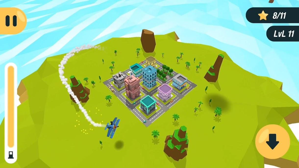 دانلود Arcade Plane 3D v0.1.1 – بازی شبیه سازی پرواز با هواپیما اندروید