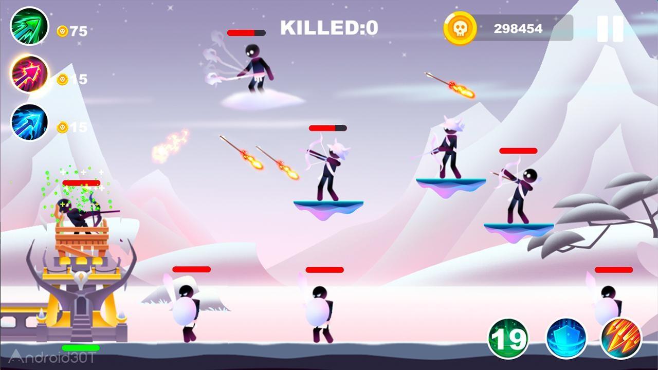 دانلود Archer Duel 1.0.8 – بازی دوئل کماندار اندروید