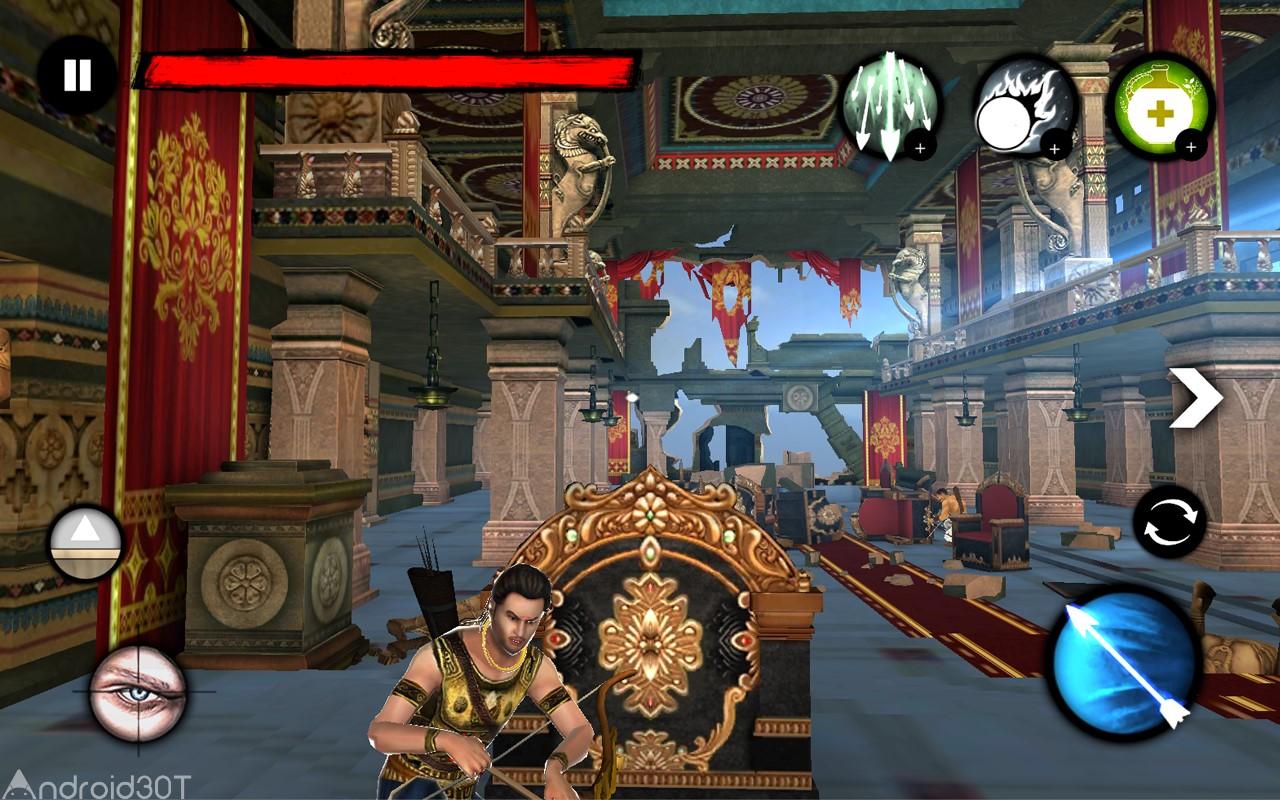 دانلود Archer: The Warrior 1.3 – بازی اکشن کماندار: جنگجو کوچک اندروید