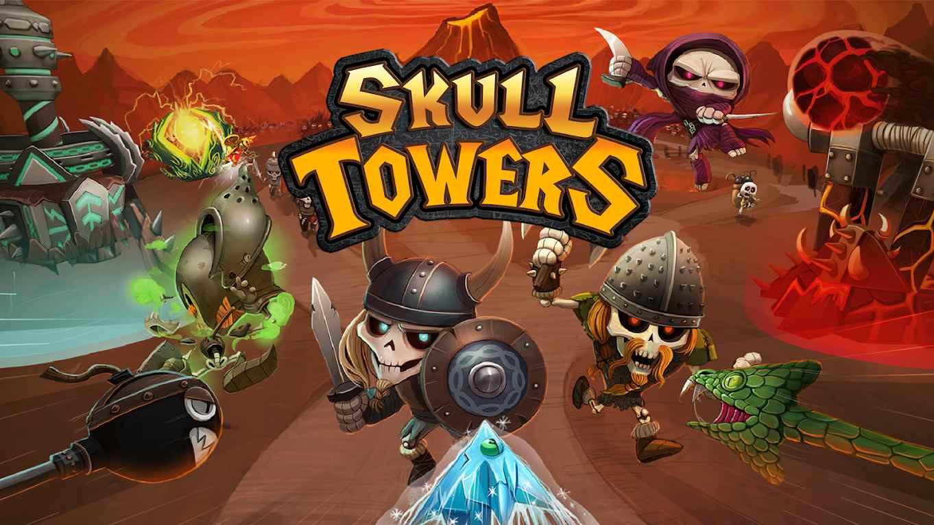 دانلود Skull Towers 1.2.14 – بازی برج اسکلت ها اندروید