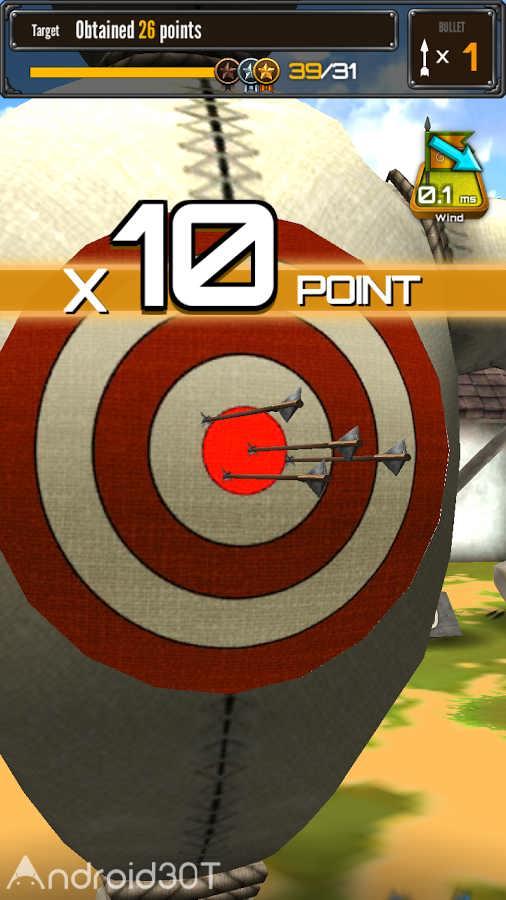 دانلود Archery Big Match 1.3.3 – بازی مسابقات تیراندازی با کمان اندروید