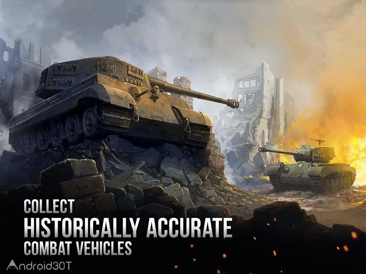 دانلود 1.18.311 Armor Age: Tank Wars – بازی استراتژیکی جنگ تانک ها اندروید