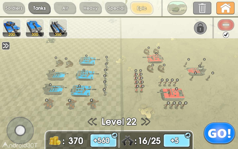 دانلود Army Battle Simulator 1.3.30 – بازی شبیه سازی نبرد ارتش اندروید