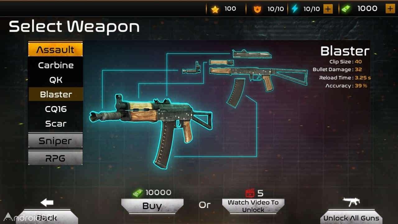 دانلود Assault Fury – Mission Combat 1.4 – بازی اکشن بدون دیتای اندروید
