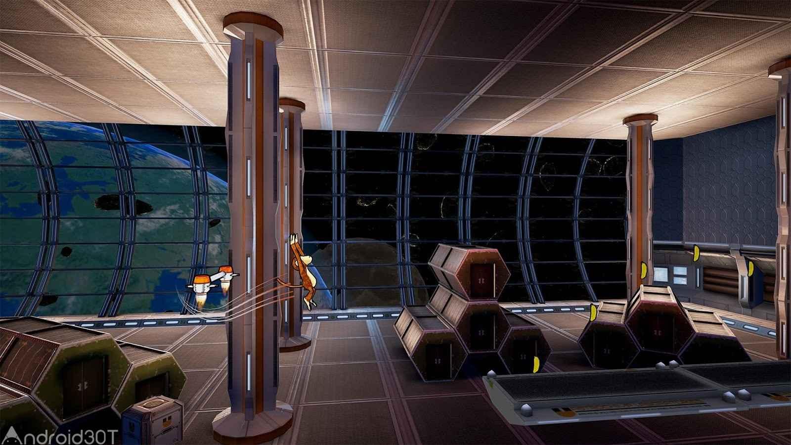 دانلود Astro Chimp 1.0.1 – بازی اکشن میمون زرنگ اندروید