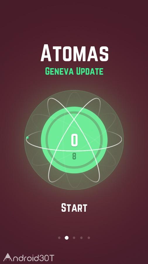 دانلود Atomas 3.15 – بازی جدید و جذاب اتم ها اندروید