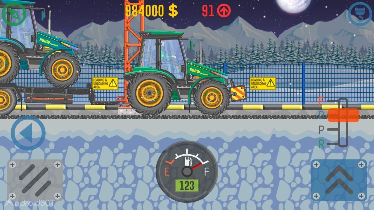دانلود BEST TRUCKER 3.49 – بازی شبیه ساز رانندگی با کامیون اندروید