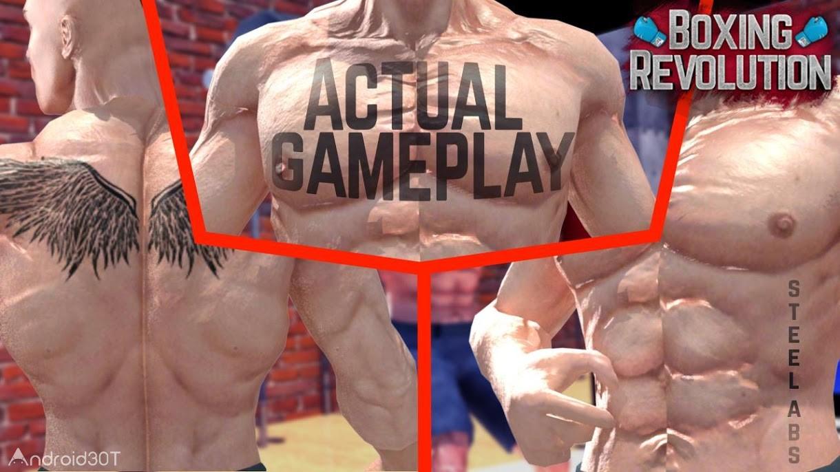 دانلود BOXING REVOLUTION – BOXING GAMES : KNOCK OUT 1.5 – بازی رقابت های بوکس اندروید