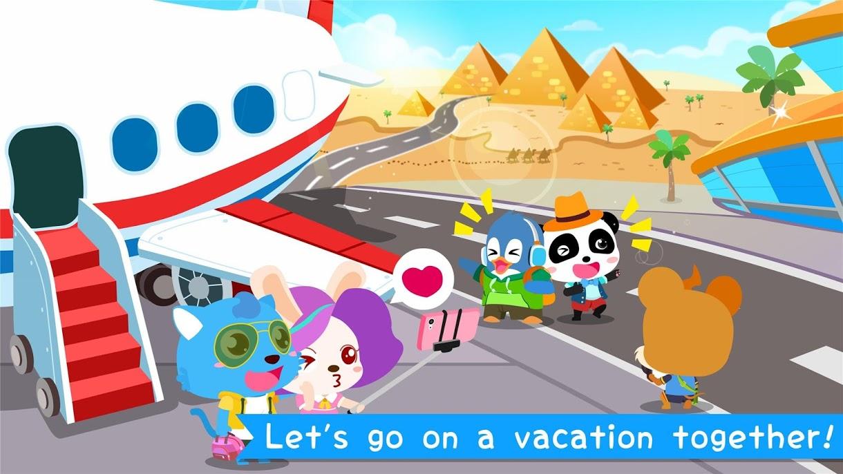 دانلود 8.34.00.00 Baby Panda's Airport – بازی کودکانه پاندا برای اندروید
