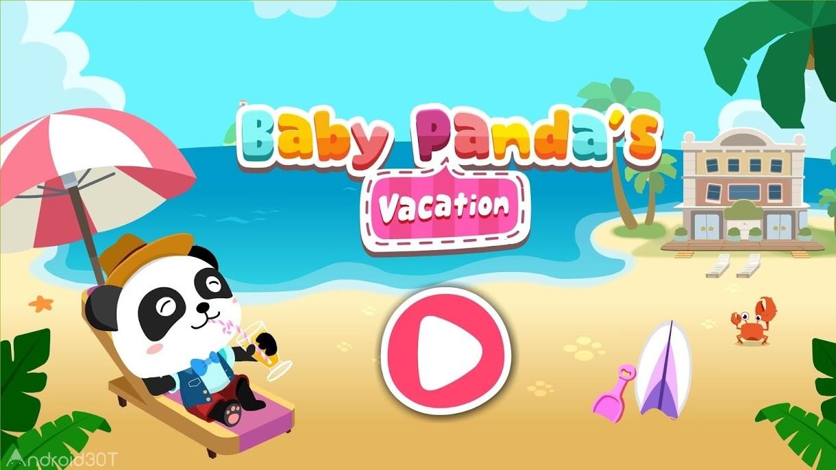 دانلود Baby Panda's Vacation 8.35.00.00 – بازی تعطیلات بچه پاندا اندروید